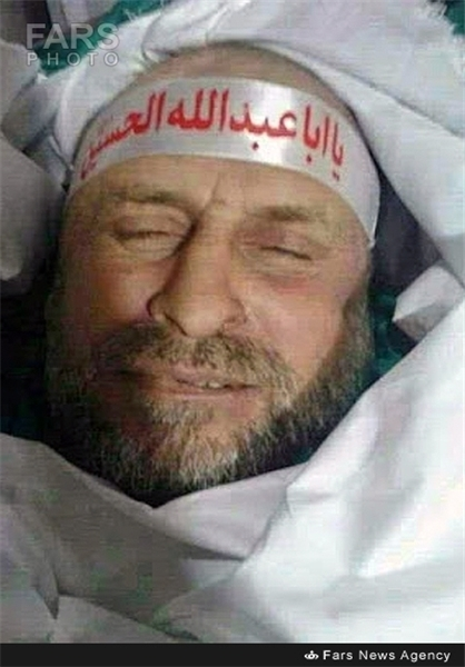 تصویر جعلی منتسب به سردار همدانی پس از شهادت!