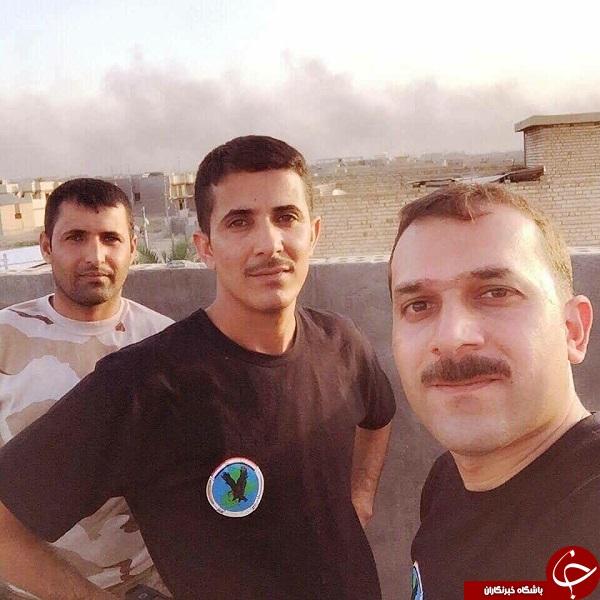 اولین سلفی مدافعان حرم بعد از آزادی فلوجه+عکس