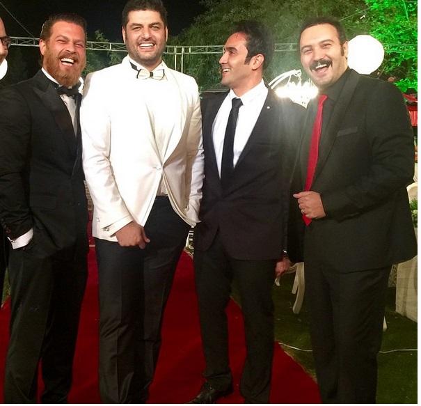 بازیگران معروف در شب دامادی سام درخشانی + عکس