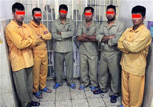 داعشی های تقلبی به دام افتادند+عکس