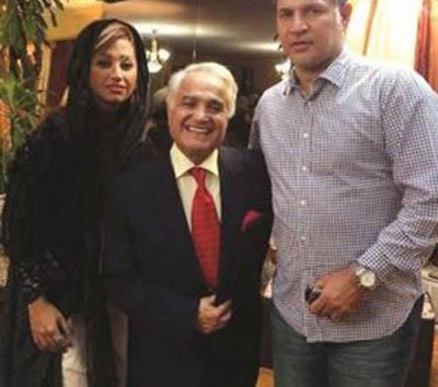 عکس یادگاری دایی و همسرش با روحانی+عکس