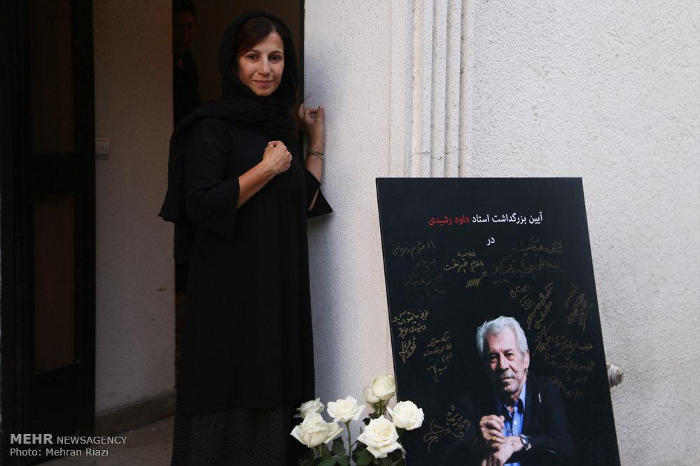لیلی رشیدی پس از فوت پدرش+ عکس