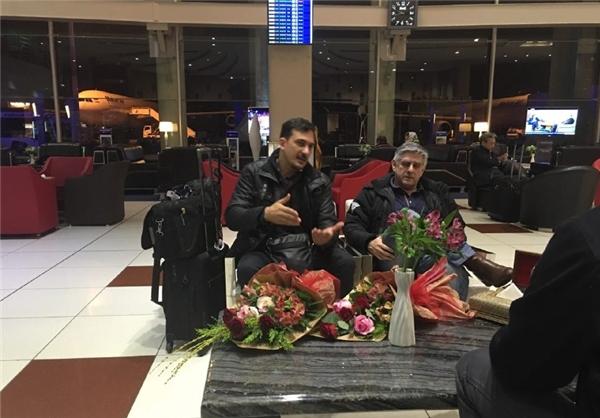 لوزانو و سیچلو وارد ایران شدند+عکس
