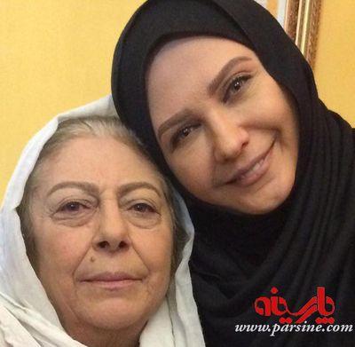 دو بازیگر معروف پشت بام تهران در یک قاب+عکس