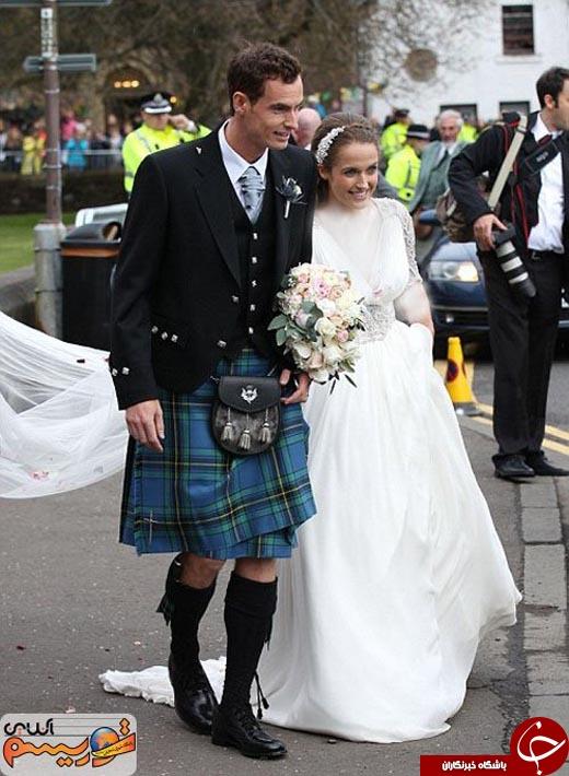 مراسم ازدواج ورزشکار مطرح در هتل گران قیمت خودش!+ تصاویر