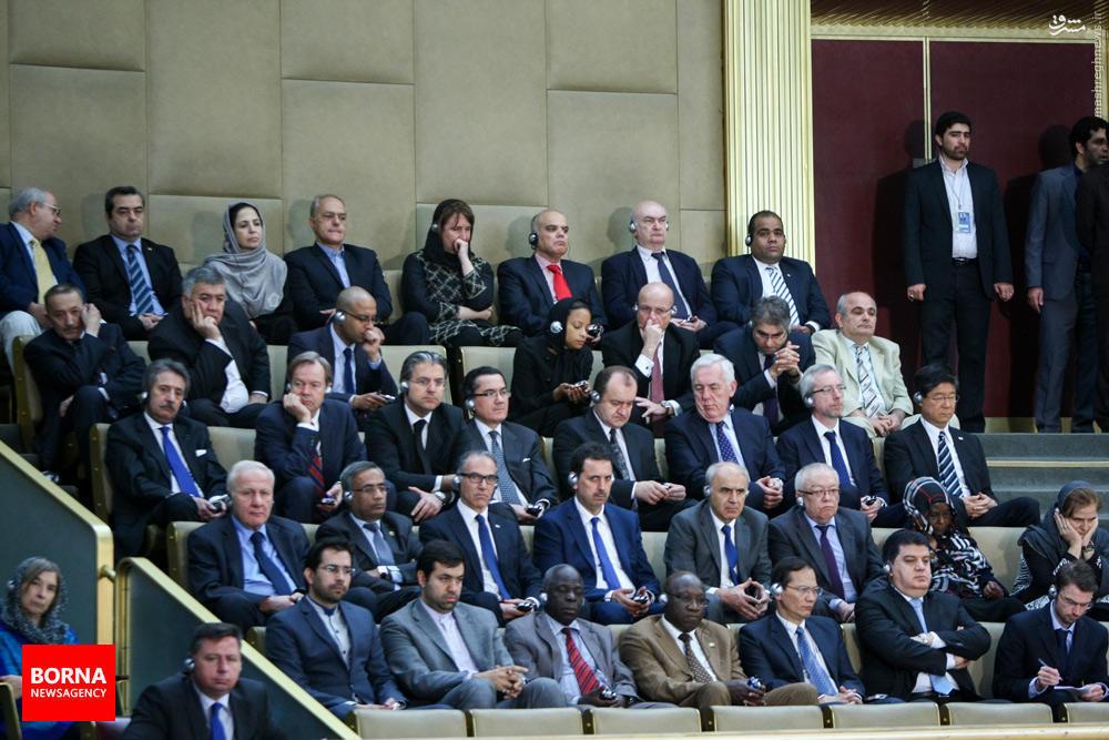 مهمانان خارجی در مجلس خبرگان+ عکس