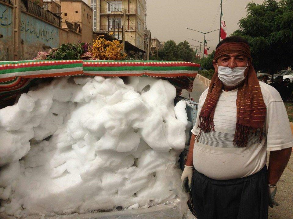 """""""برف"""" کیلویی ۱۰ هزار تومان! + عکس"""