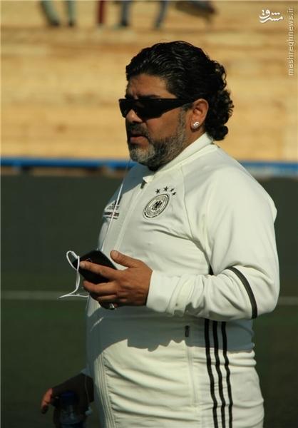 بازیگری که مارادونا با دیدنش به گریه افتاد +عکس