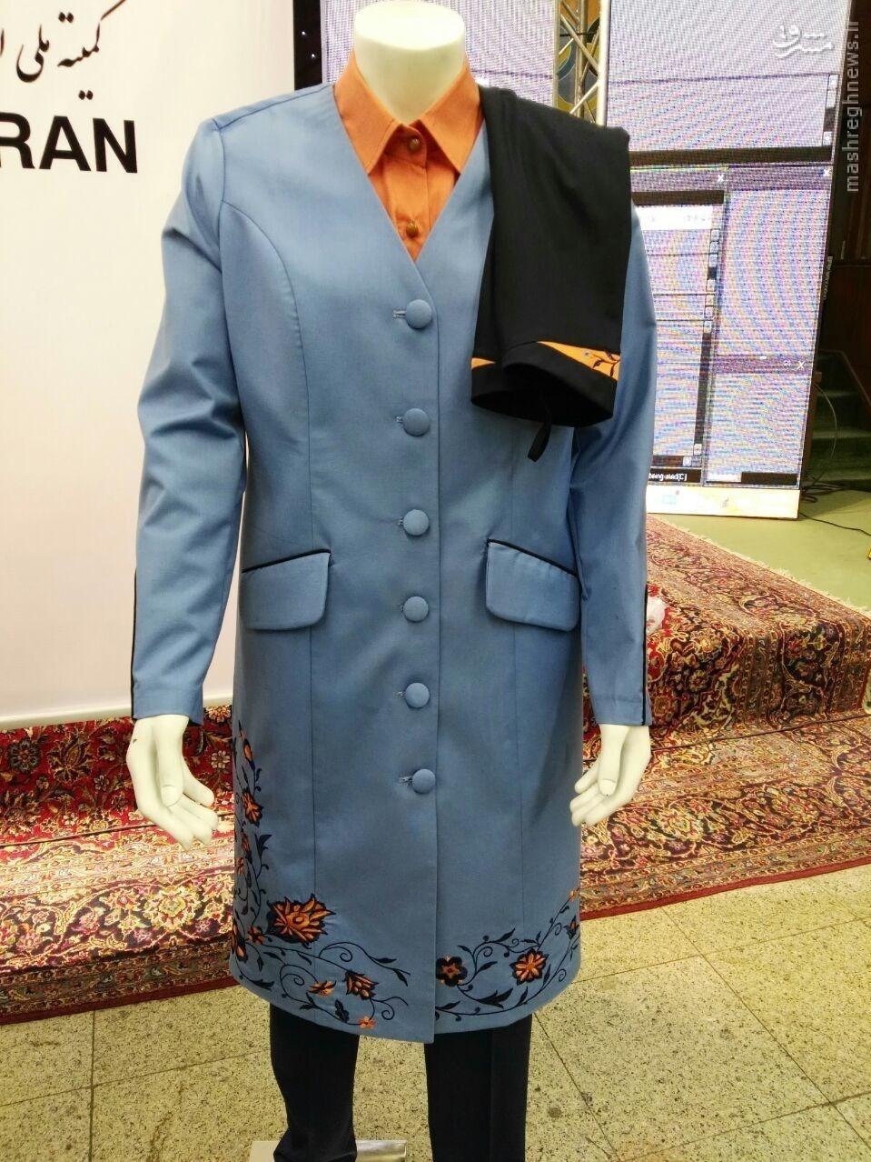 رونمایی از لباس کاروان ایران در المپیک ریو + تصاویر