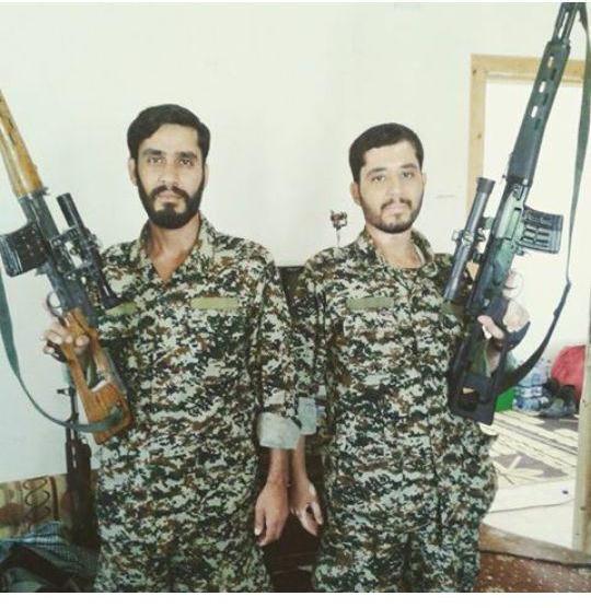 شهادت دو برادر ایرانی در سوریه +عکس