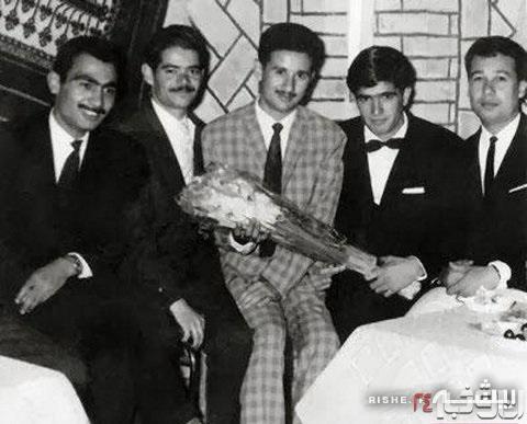 محمدرضا شجریان در شب عروسیاش +عکس