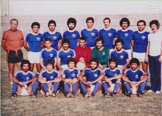 تیم استقلال سال ۱۳۵۷+عکس