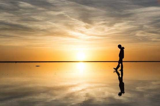روی آب راه بروید! + عکس