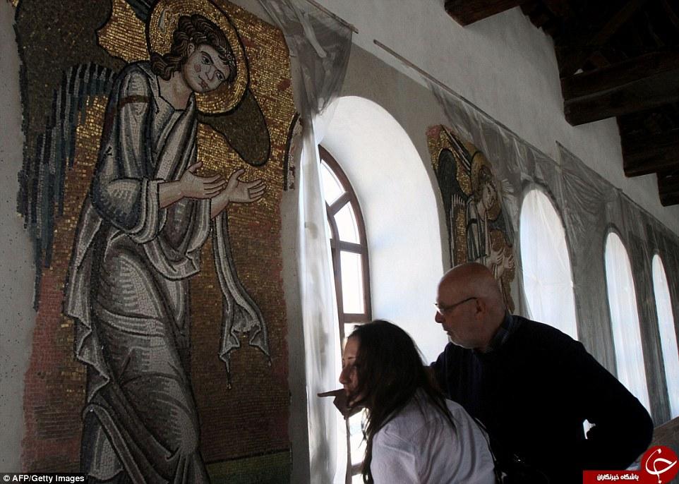 کشف فرشته در زادگاه حضرت عیسی (ع) + تصاویر