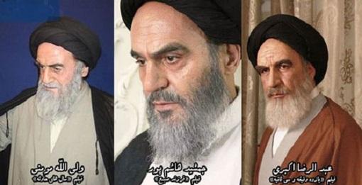 تست گریم بازیگران برای نقش امام + تصاویر