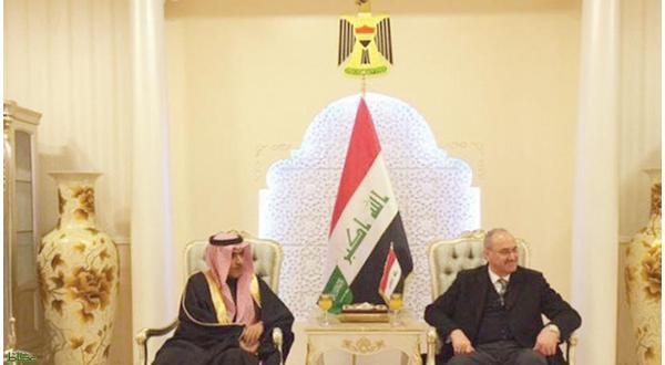 ورود اولین سفیر عربستان به عراق بعد از ۲۵ سال+عکس