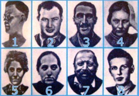 شخصیت شناسی: کدام چهره باعث ترس شما می شود؟+عکس