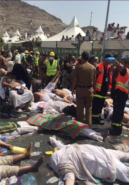ادامه سریال کشتار حجاج به علت بی کفایتی رژیم سعودی + تصاویر
