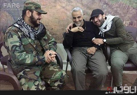 شوخی با سردار سلیمانی در اتاق جنگ+عکس
