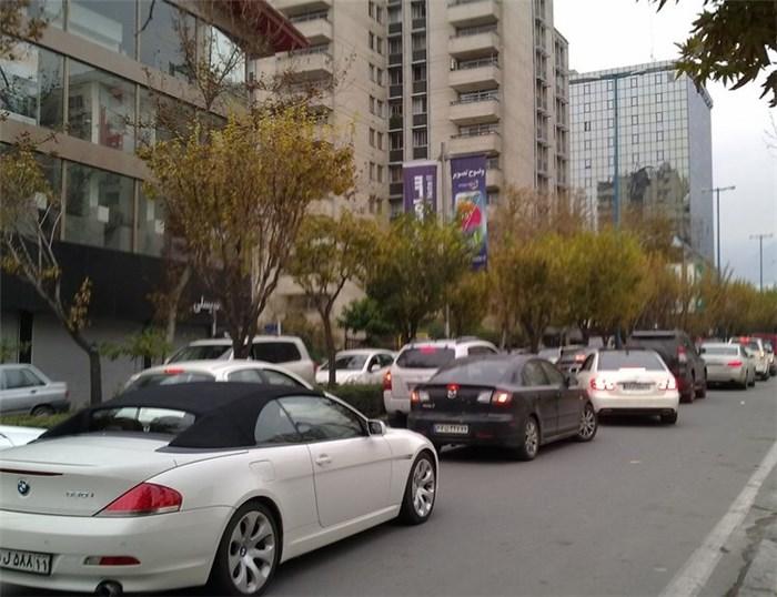 دور دور کردن به سبک جدید در خیابان های تهران +عکس