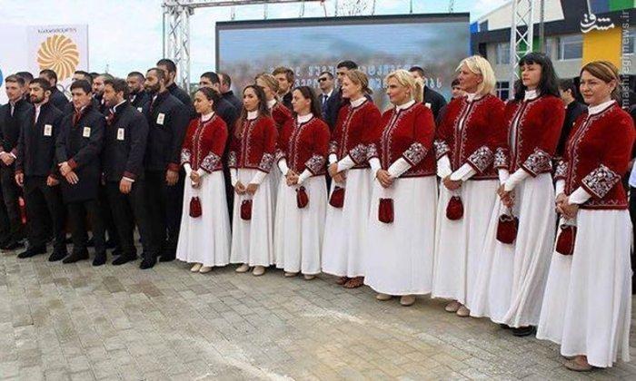لباس پرحاشیه گرجستان برای المپیک + عکس