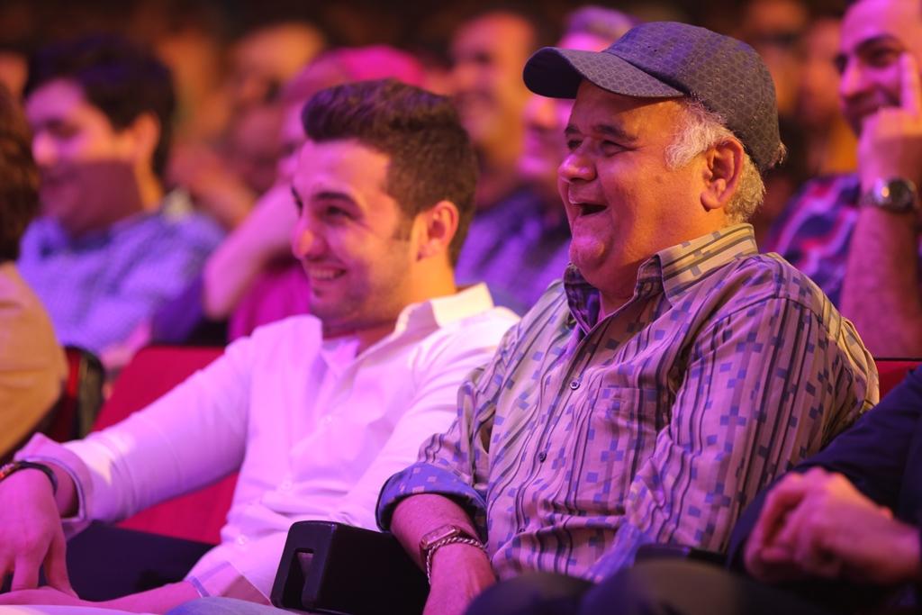عکس های جذاب از بازیگران سینما در کنسرت حسن ریوندی