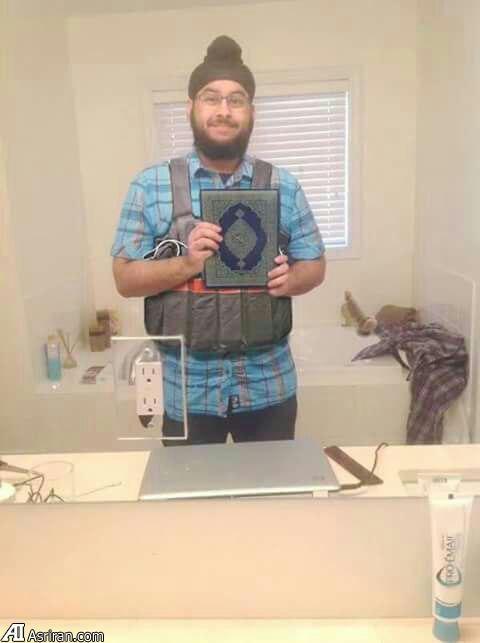 داعش یکی از تروریستهای پاریس را نشان داد+ عکس