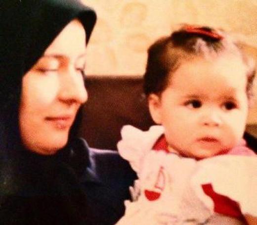 متن زیبای، مادرانه آزیتا حاجیان برای تولد دخترش ملیکا +عکس