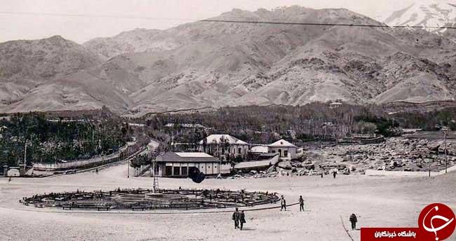 عکس جالب از تجریش ۱۱۴ سال پیش +تصاویر