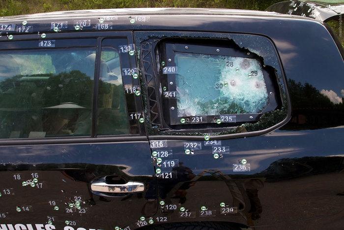تست مرگبار خودروهای تشریفاتی+ عکس