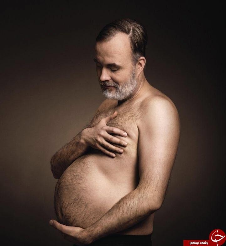 وقتی مردان هم حامله می شوند+تصاویر