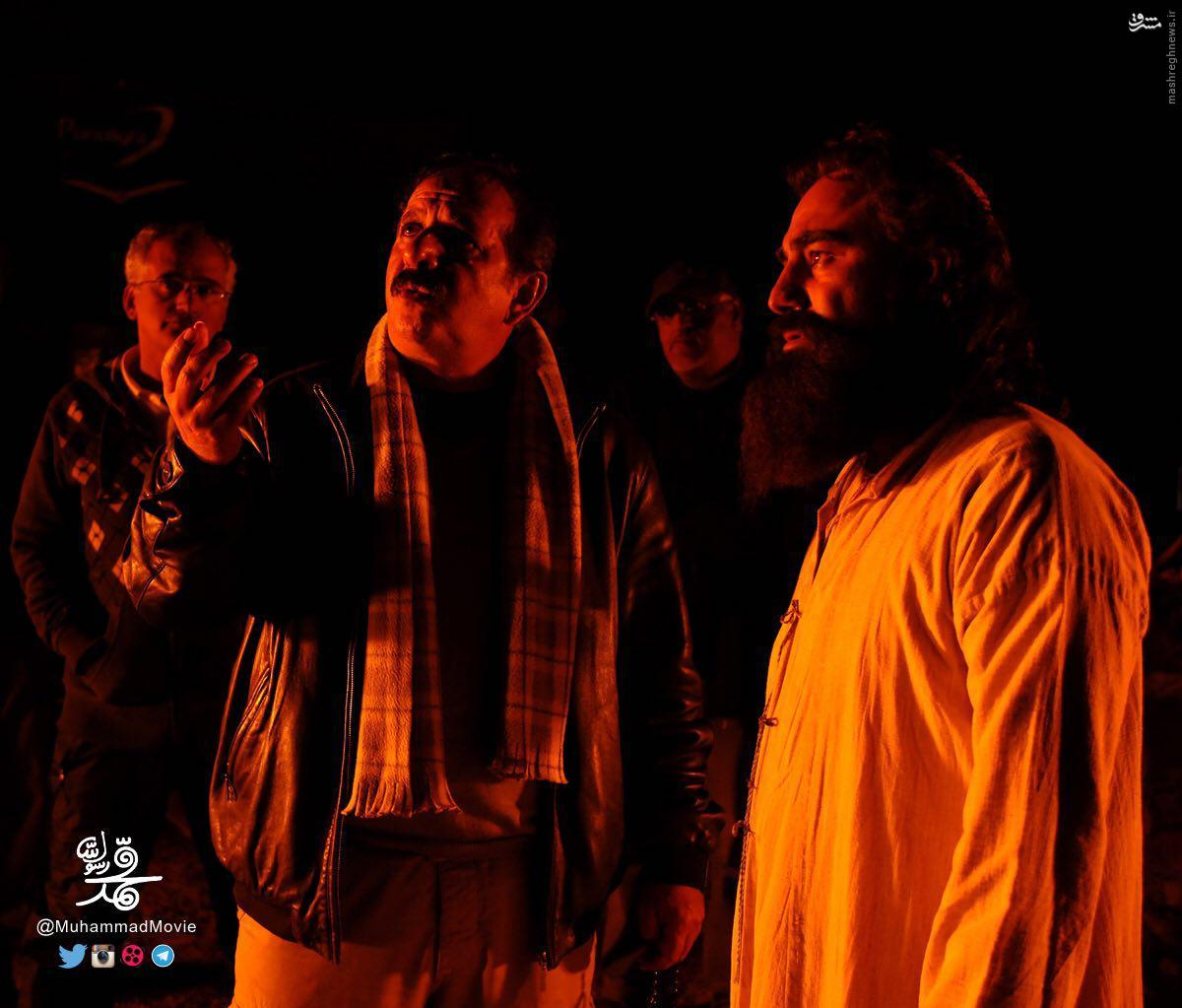 تنابنده درپشت صحنه فیلم محمدرسول الله(ص)+عکس
