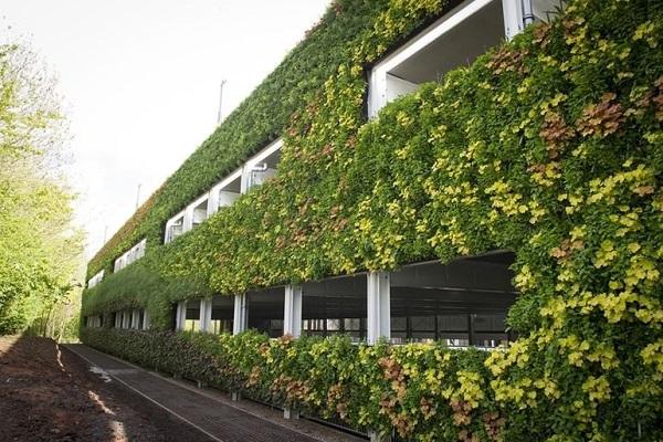 عظیمترین دیوار سبز اروپا +تصاویر
