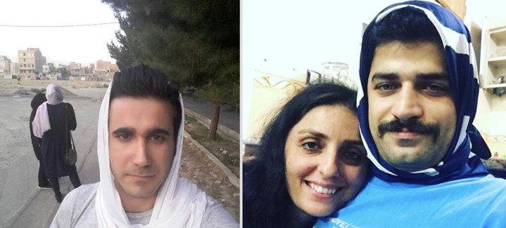 مردان ایرانی روسری به سر کردند! +تصاویر