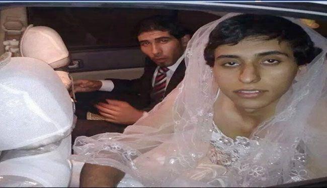 فرار یک داعشی با لباس عروس ! +عکس