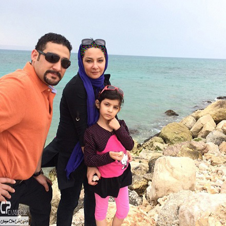 ماجرای جالب لاله صبوری و همسر دوم آمریکایی اش +عکس