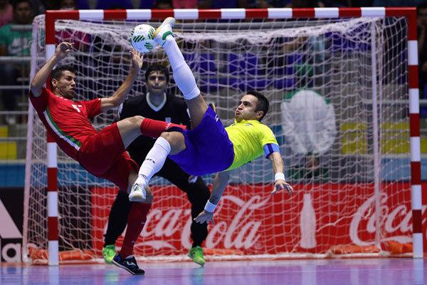 پیروزی تاریخی و مقتدرانه تیم ملی فوتسال ایران برابر برزیل+تصاویر