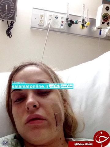 این زن بیماری خودکشی دارد ! +عکس