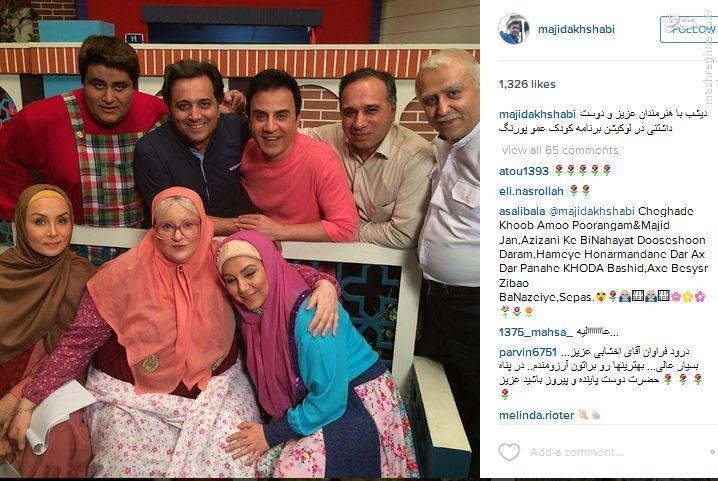 خواننده معروف میهمان محله گل و بلبل عموپورنگ + عکس