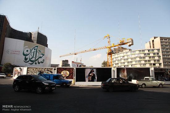 تصاویر: تبلیغات فیلم محمد رسول الله در سطح شهر تهران