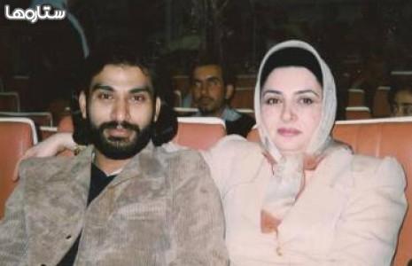 عکسی کمتر دیده شده از مرحوم ناصر عبداللهی و همسرش