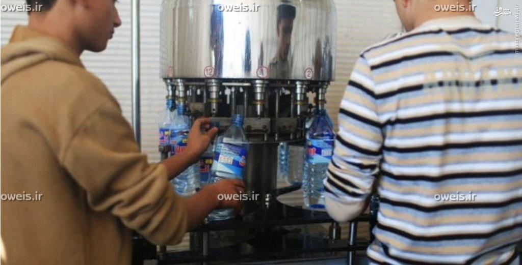 داعش شرکت آب معدنی زد +عکس