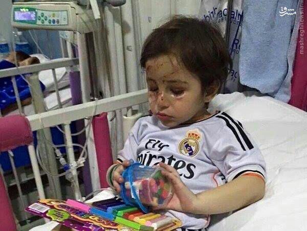 ماجرای تامل برانگیز تماس تلفنی رونالدو با کودک مجروح لبنانی+تصویر