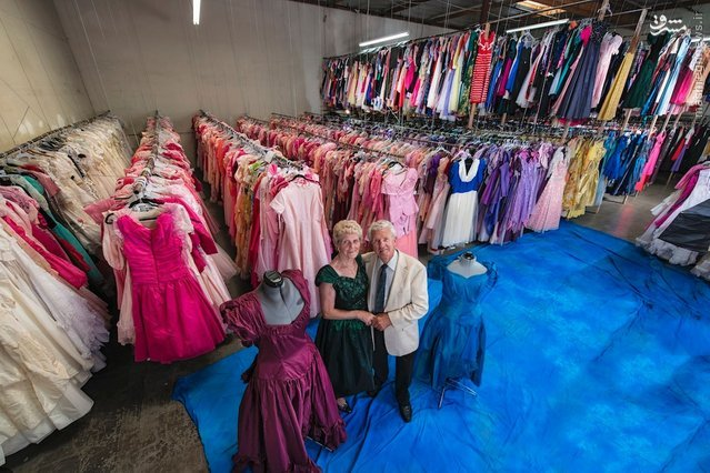 کلکسیونی از ۵۵ هزار لباس یک خانم+ عکس