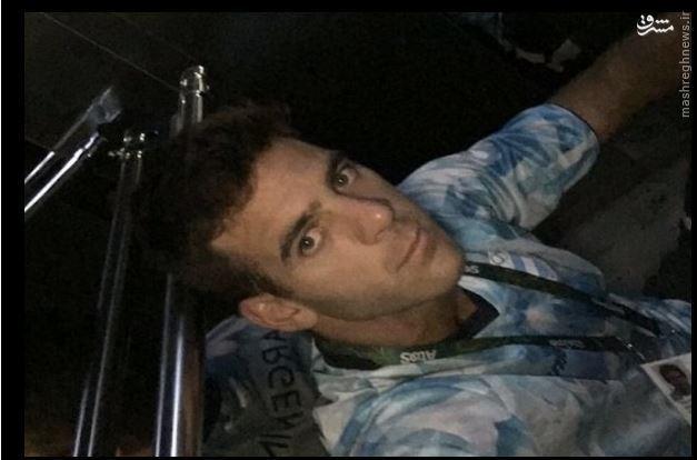 اتفاق عجیب برای تنیسور آرژانتینی +عکس