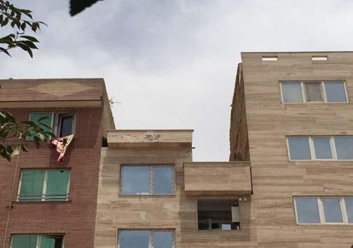 آپارتمان های فوق نقلی جالب درخیابان اتابک تهران + تصاویر
