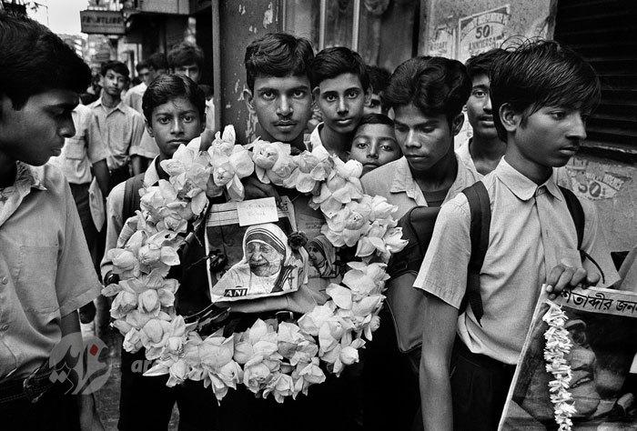 مراسم تشییع مادر ترزا+تصاویر