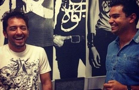 بهرام رادان با تیشرت جدیدش +عکس