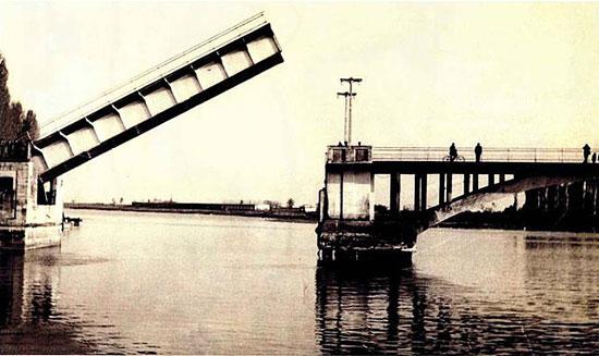 اولین پل متحرک تاریخ ایران + عکس
