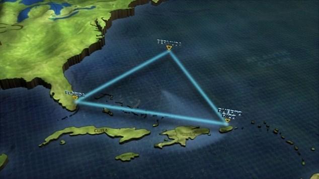 راز مثلث برمودا حل شد ؟!!+عکس